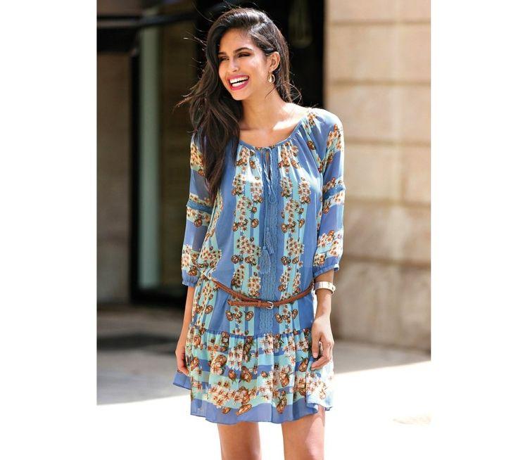 Šaty s potlačou a čipkou | modino.sk #ModinoSK #modino_sk #modino_style #style #fashion #summer #bestseller