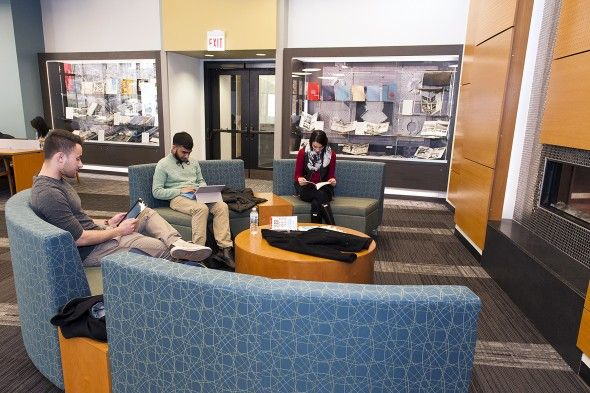 Uic Daley Library Reserve Room