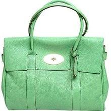 Mint green tote