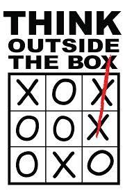 #thinkousidethebox