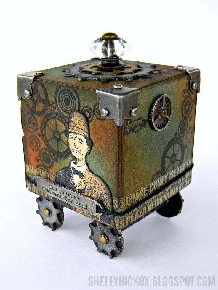 Stamptramp: Artist Trading Block - Journey