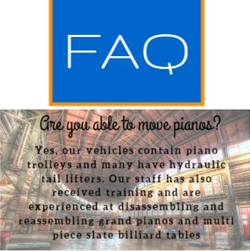Did you know that transco cargo can move pianos and billiard tables safely for you? http://www.transcocargo.com.au/about-transco/faq