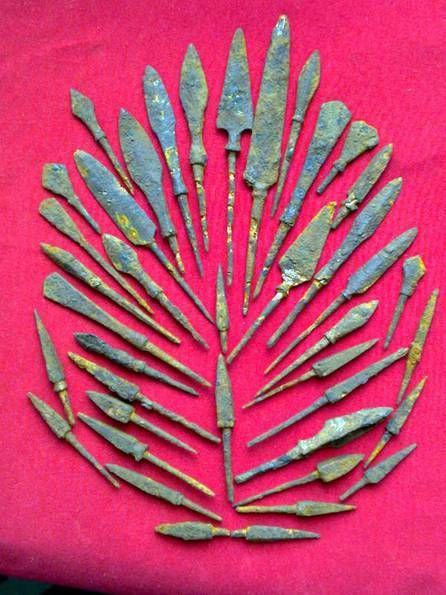 #arrowheads , 11-16 century , iron, original, Eastern Europe