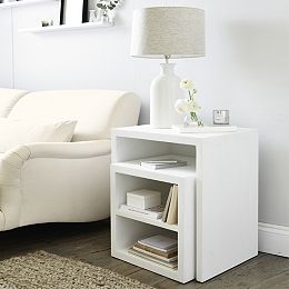 Buy Pimlico Cube Nest Tables - from The White Company
