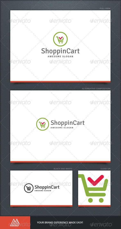 Shoppin Cart Logo Template