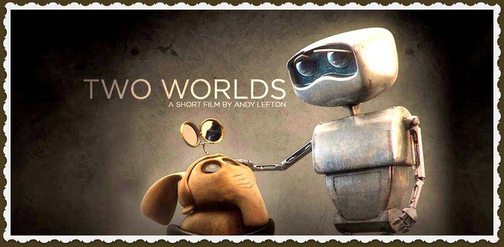 """""""TWO WORLDS"""" VALORES: SOLIDARIDAD. https://vimeo.com/album/2298055/video/124954919 este corto nos cuenta la relación por la supervivencia de dos pequeñas criaturas que viven en un mismo universo, pero en diferentes planetas. Uno de ellos, un pequeño robot se estrella en el planeta en el que también se estrelló el otro con anterioridad. La historia ilustra cómo la solidaridad y la esperanza en un futuro mejor ayudan a sobrellevar tiempos oscuros y a la deriva en un mundo extraño."""