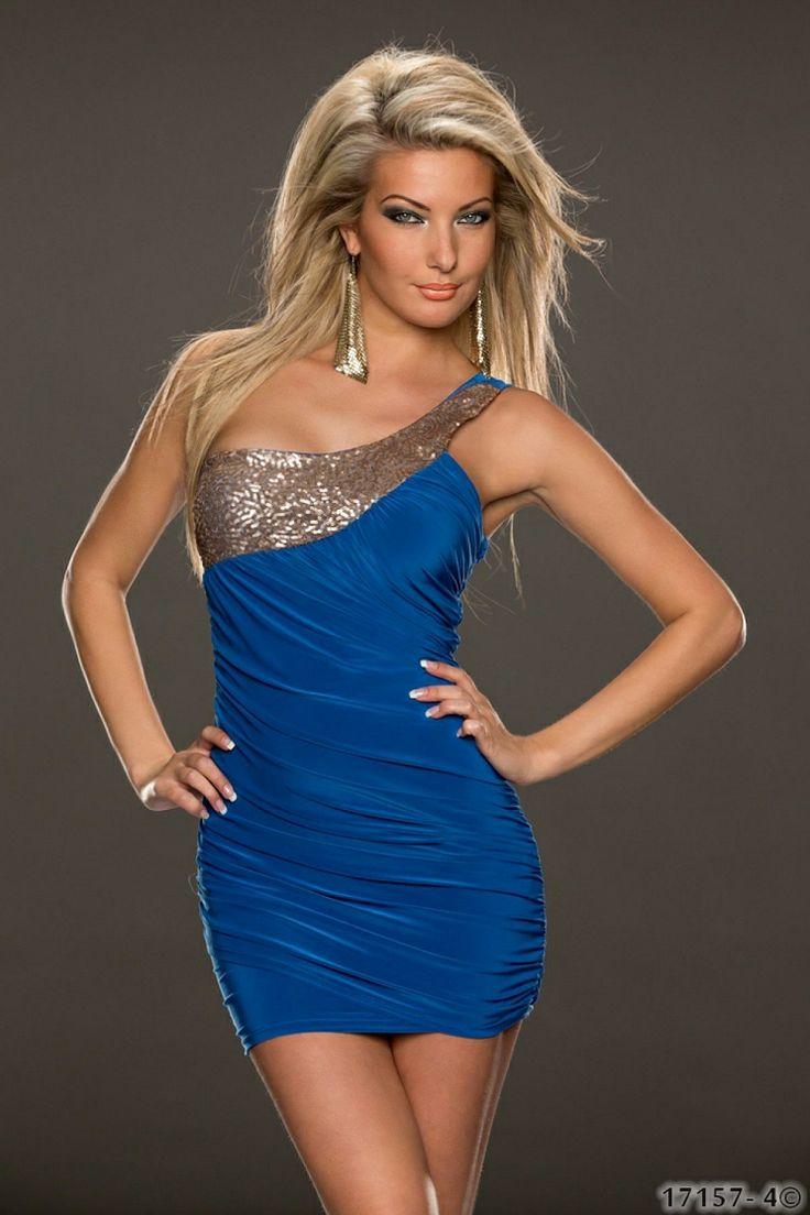 Rochie ShinySparkle Blue >> Click pe poza pentru a vedea pretul. #rochii #rochiideseara #fashion #dress #rochiideocazie