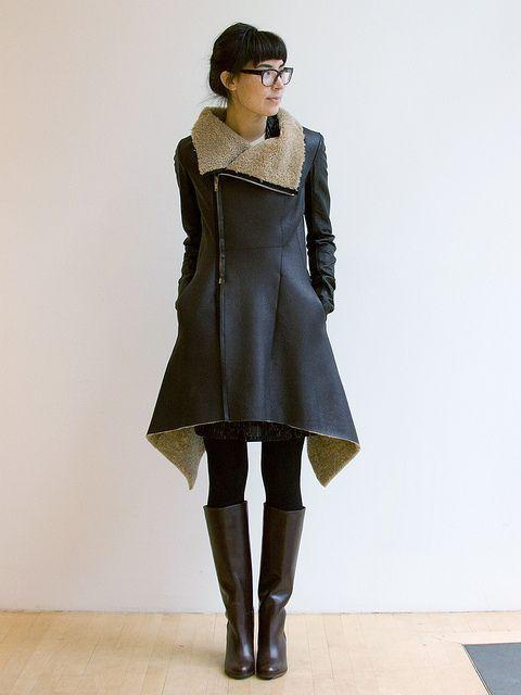 303 coat - Ethel Fashion Styling Life.  Quanto vorrei questo cappotto..