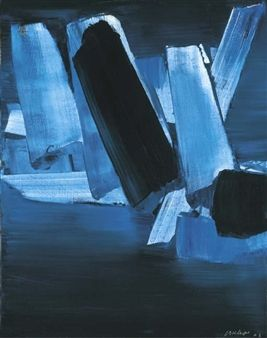 17 juillet 1963 By Pierre Soulages