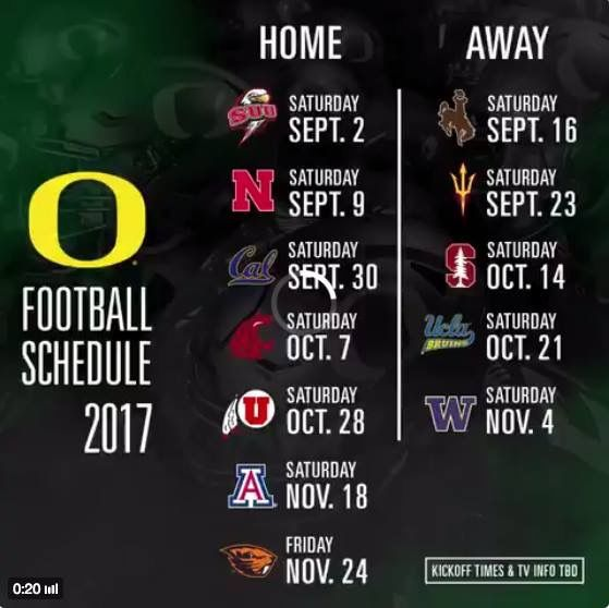 2017 Oregon football season