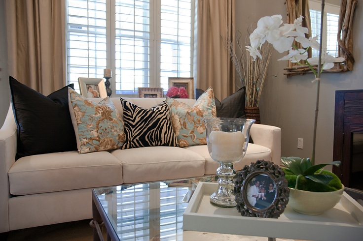 Rustic Glam Living Room By Emily Hewett Of A Well Dressed