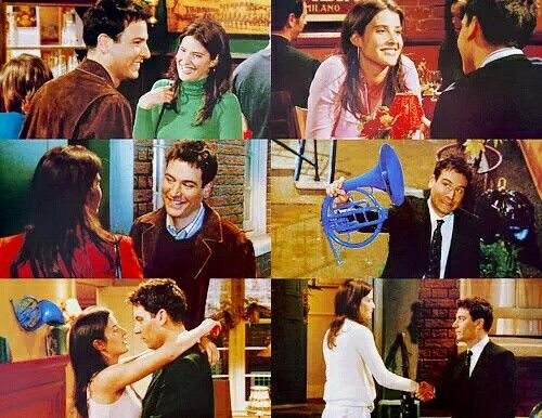 Robin and ted