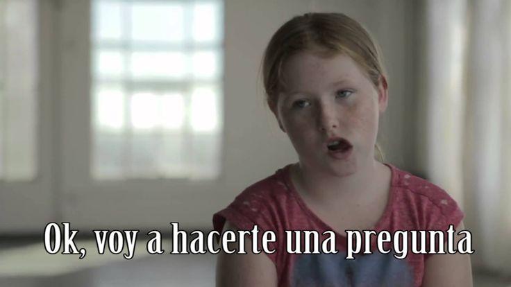 """Si pudieras cambiar una sola parte de tu cuerpo - ¿Que cambiarias? Preciós. En anglès subtítols en castellà. Per aprendre dels nens que no tenen complexos. CS 4'28"""""""