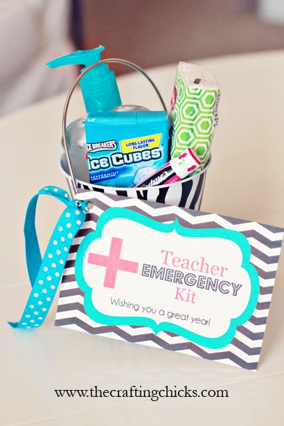 Teacher Emergency Kit and Free Printable