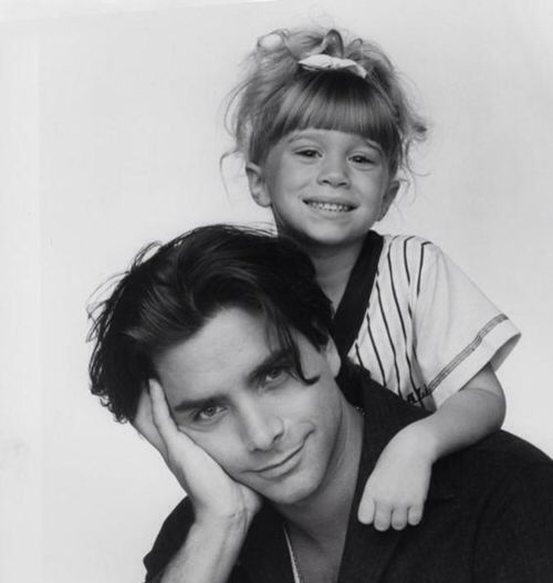 Uncle Jesse and Michelle <3 Funny, I was watching Full House when I stumbled across this picture!!!