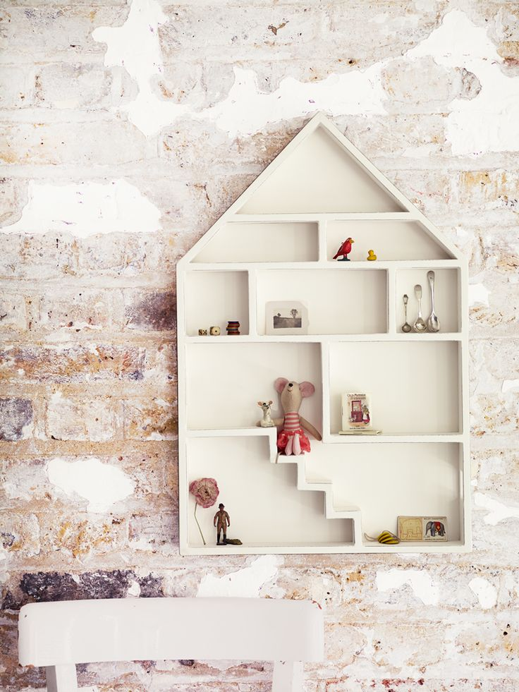 Gesso Dolls House Shelf - White - Kids - Indoor Living