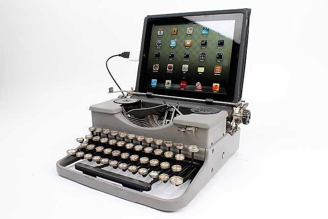 USB Typewriter Computer Keyboard 1