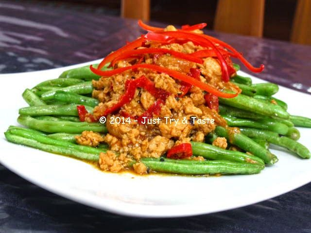 buncis a la szechuan  vegetable side dishes food food