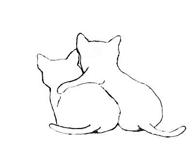 Free digi stamp, Cat Friends | julietk