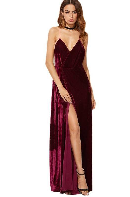 25 melhores ideias de vestido cor de vinho no pinterest