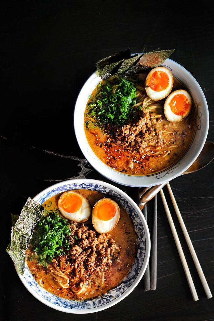 Spicy Miso Ramen Express by ladyandpups #Mmiso_Soup #Ramen