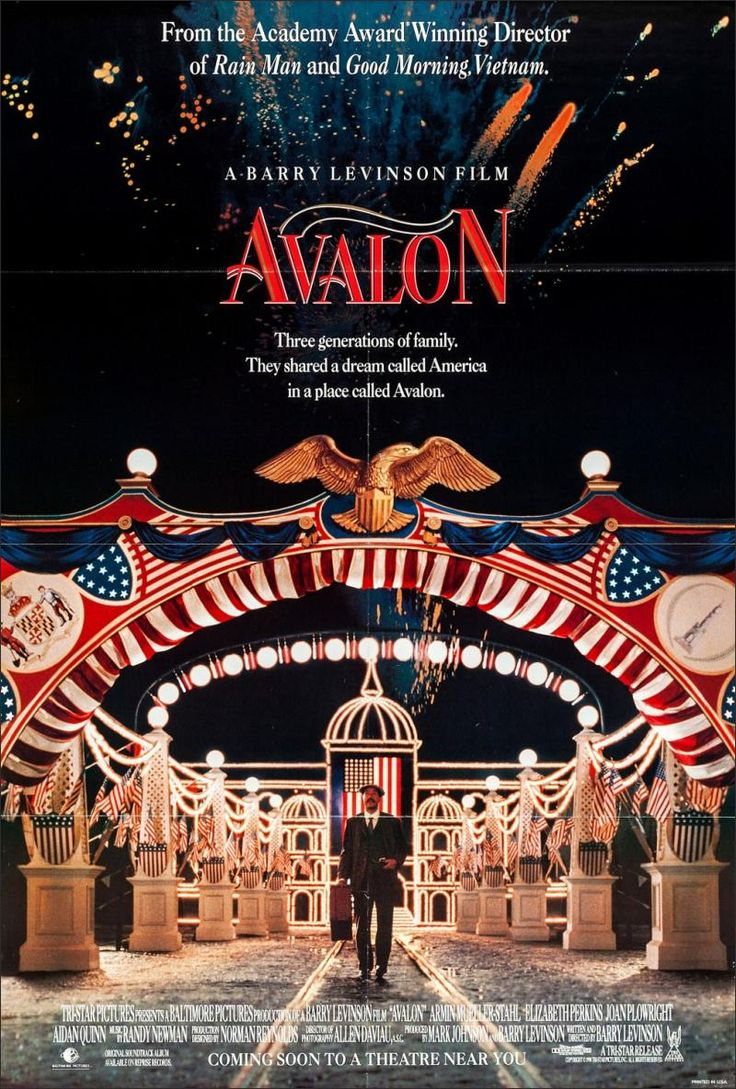Avalon Movie Poster (1990)