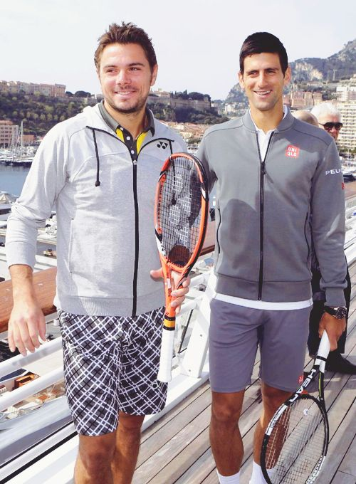 Novak Djokovic and Stan Wawrinka | Monte Carlo Rolex Masters 2015 Previews