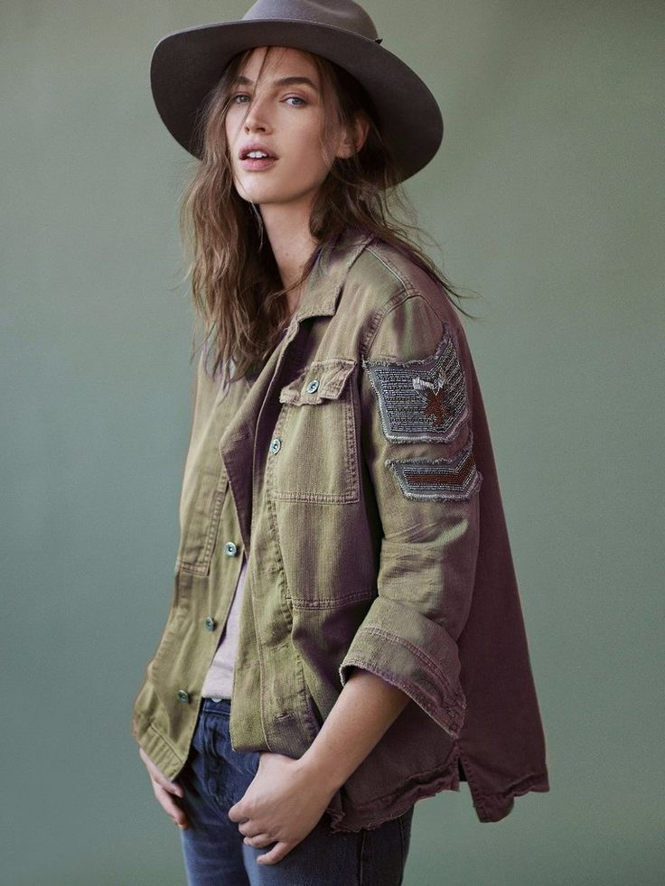 Women's Military Style Jacket