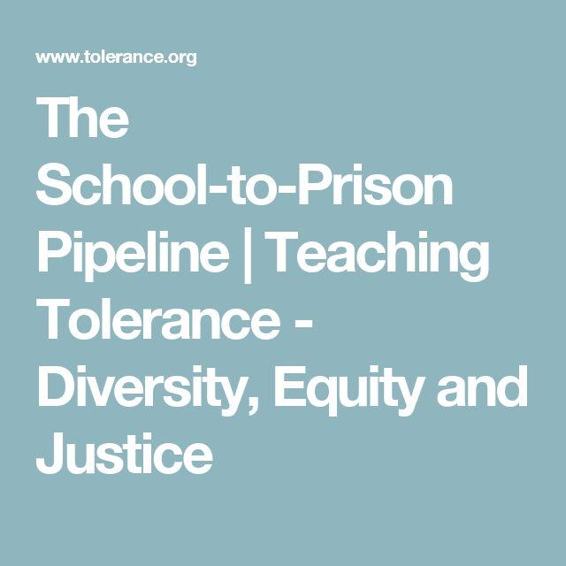 The School-to-Prison Pipeline | Teaching Tolerance - Diversity, Equity and Justice