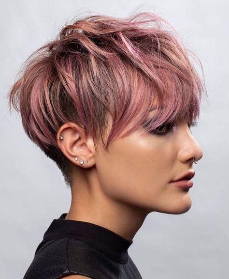 10 Pixie Haircut Inspiration, Derniers styles de cheveux courts pour les femmes 2019  #cheveux #courts #derniers #haircut #inspiration