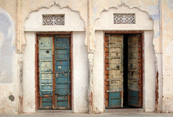 Indian doors from Postallove - SENT TO Czechia October 2017