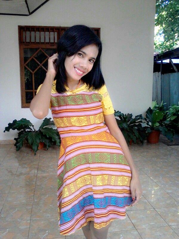 Dress Tenun NTT