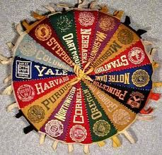 college pennant wheel