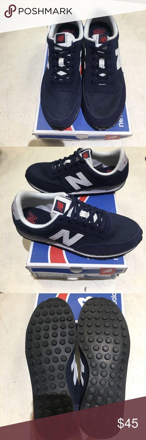 Brand new in box navy blue new balance sneakers Brand new in box navy blue new balance sneakers. 100% Authentic New Balance Shoes Sneakers