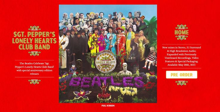 Sgt Pepper 50th Anniversary Mini Site, Press Release and Record Store Day Announcement | Beatles Blog