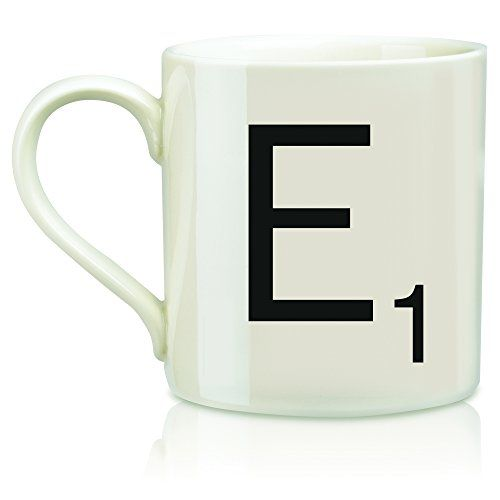 Wild and Wolf Scrabble Mug Letter E *** Continue to the product at the image link.  This link participates in Amazon Service LLC Associates Program, a program designed to let participant earn advertising fees by advertising and linking to Amazon.com.
