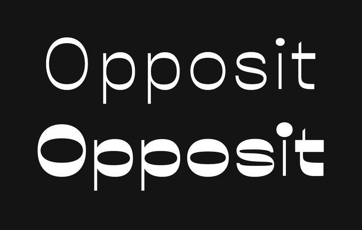 Good Type: Opposit