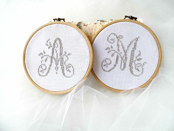 Wedding Favours Hoop Embroidery Gift For by MelindasSewingCorner