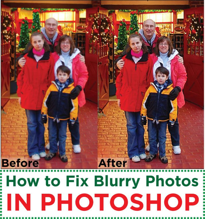 Quick tip on how to fix blurry pictures in Photoshop. Photos may appear sharp on the camera screen, but later you see it's blurry. Easy tip to fix the blur.