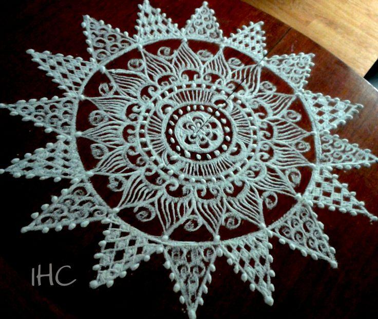 A Kolam Pattern