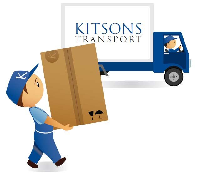 Removal Man with Kitsons Transport Van