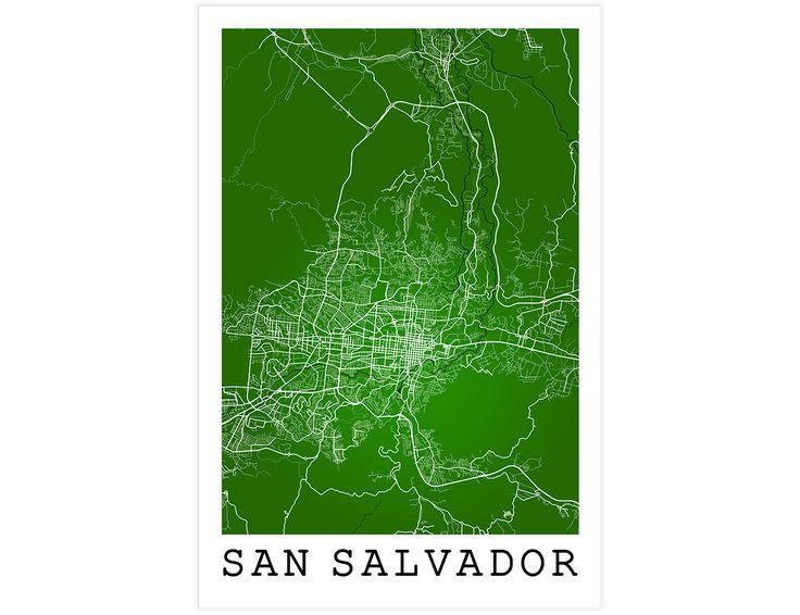 Calle San Salvador San Salvador El Salvador por JurqStudio en Etsy