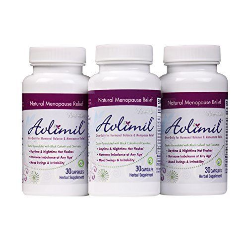 Get Natural Menopause Supplement Support and Hot Flash Relief with Doctor-Formulated Avlimil. If you're like most women, you'll start to experience menopause symptoms sometime between 40 and 55. Every woman's body is different, and you could be affected by one or many of over 30... more details at http://supplements.occupationalhealthandsafetyprofessionals.com/herbal-supplements/black-cohosh/product-review-for-avlimil-natural-menopause-supplement-pills-balance-