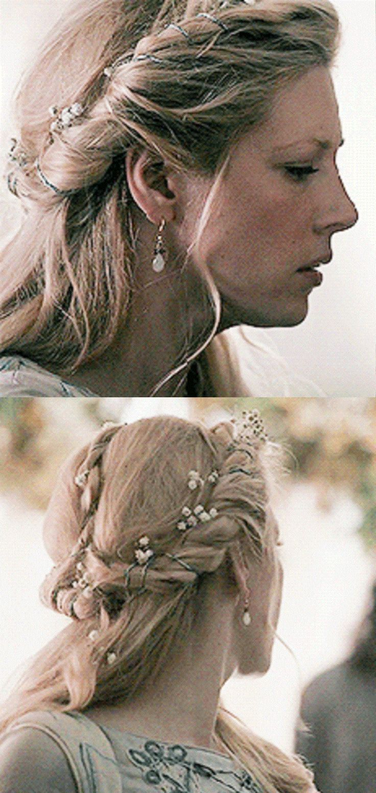 Lagertha's Wedding Hair