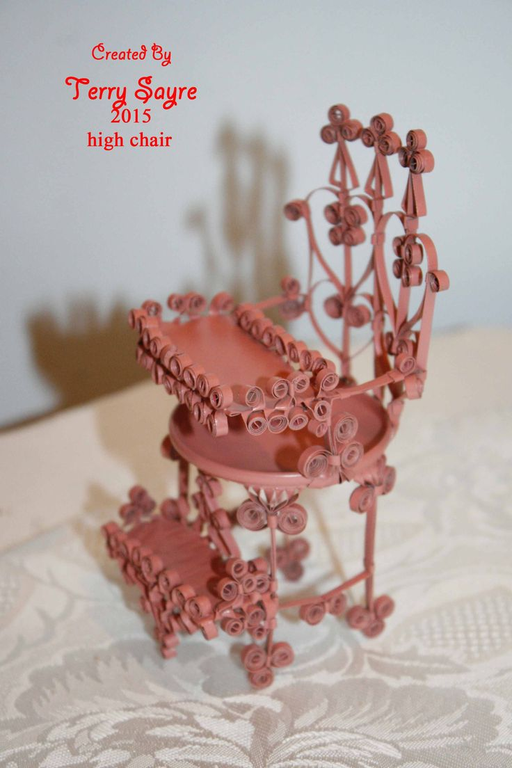 7 best My Tin Can Doll House Furniture quilling, curling, or tramp ...
