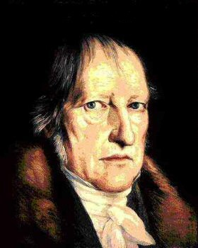 """""""What is reasonable is real; that which is real is reasonable."""" Georg Wilhelm Friedrich Hegel, Elements of the Philosophy of Right  /  """"The essence of the modern state is the union of the universal with the full freedom of the particular, and with the welfare of individuals."""" Georg Wilhelm Friedrich Hegel, Elements of the Philosophy of Right"""