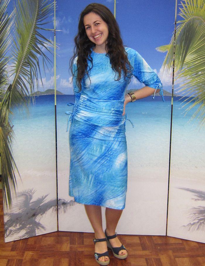 Modest swim dress for ladies