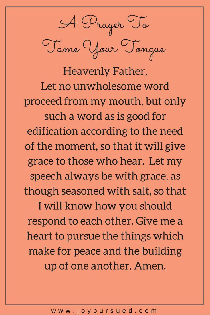 112 best prayers for healing strength images on pinterest 3 verses to tame your tongue fandeluxe Choice Image