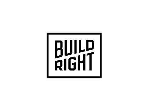 Build Right Logo by Sarah Karwoski