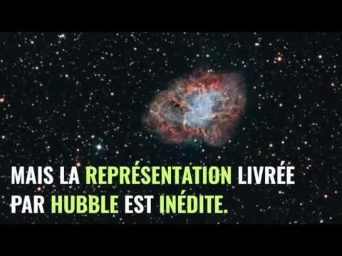 Hubble dévoile une fantastique représentation de la nébuleuse du Crabe